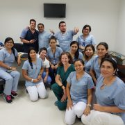 Physical therapy student from US with Peruvian physical therapists