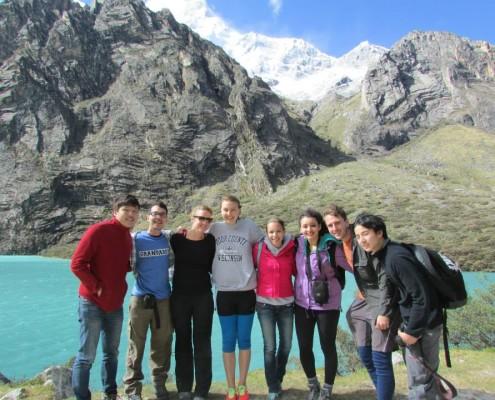 trekking in Huaraz