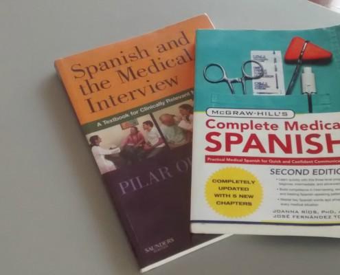 medical Spanish books
