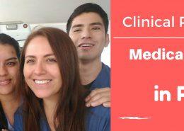 Medical students in Peru