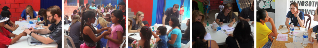 Community health fairs in Peru